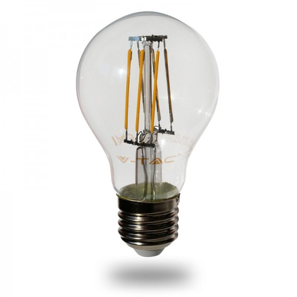 Bec LED Filament 4W E27 Clar - lumina rece