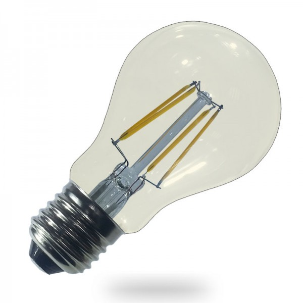 Bec LED Filament 6W E27 Clar - lumina ca...