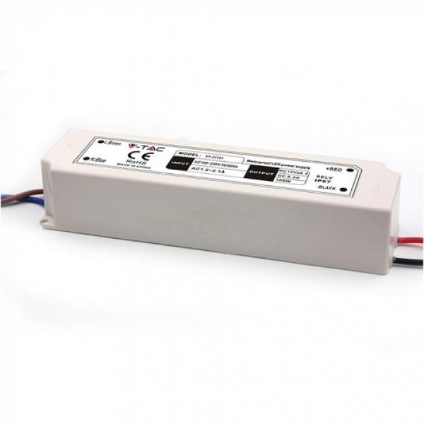 Sursa de alimentare transformator de exterior pentru banda LED 100W 12V IP67