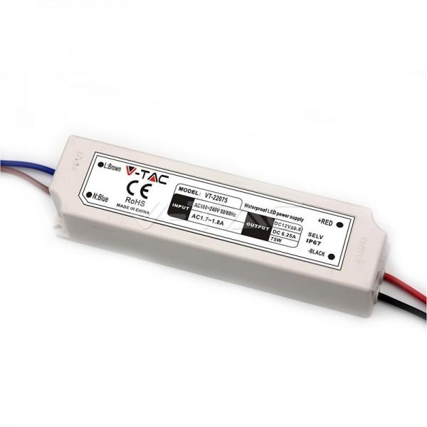 Sursa de alimentare transformator de exterior pentru banda LED 30W 12V IP67