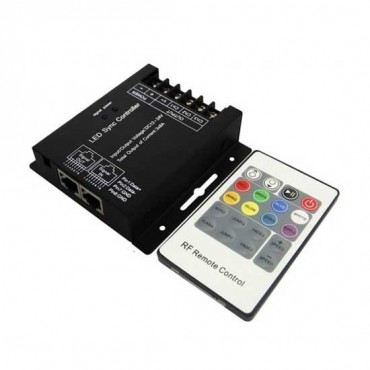 Controler cu Telecomanda pentru Banda LED RGBW 24 de butoane
