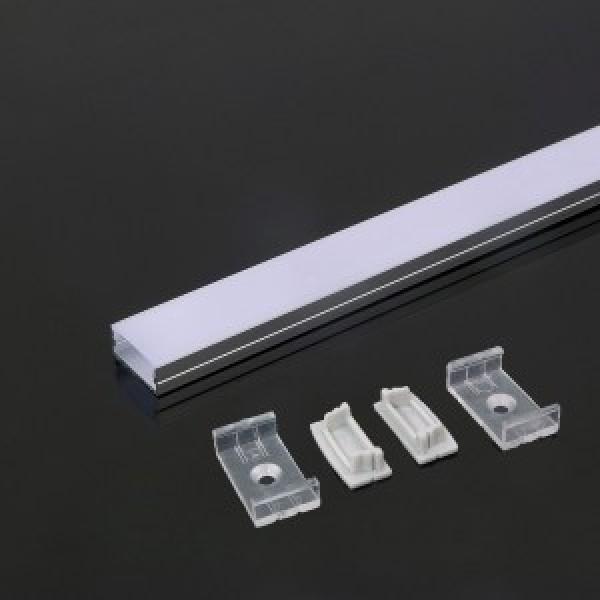 Profil din Aluminiu 2000 x 23.5 x 10 mm Aspect Laptos