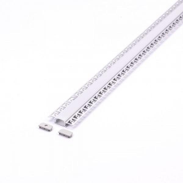 Set Profile de Aluminu din Gips Late cu aspect laptos 2000mm