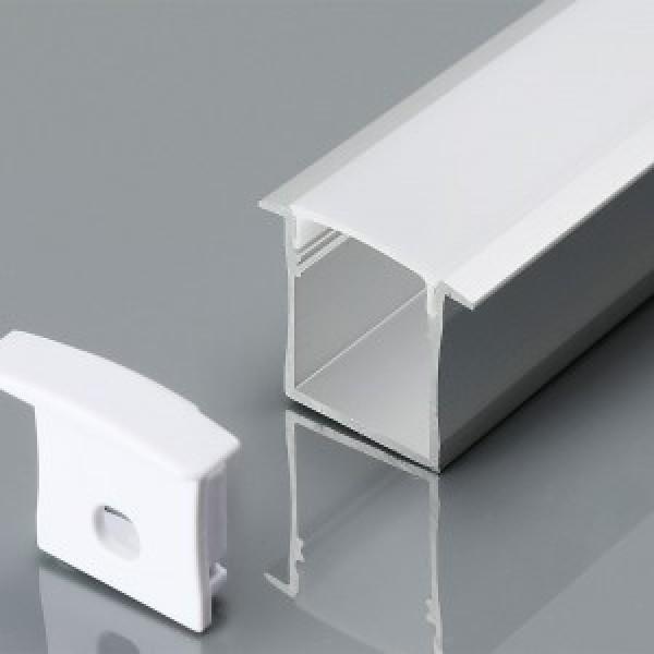 Profil din Aluminiu U 2000 x 30 x 20 mm Aspect Laptos