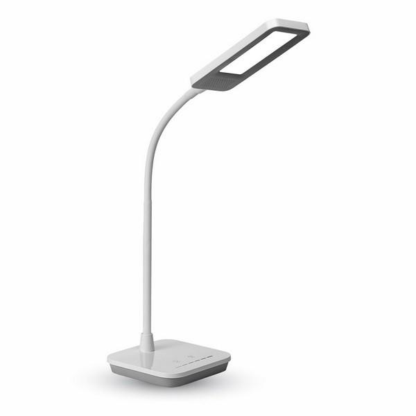 Lampa de birou LED 7W Corp Gri Dimabila ...