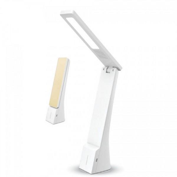 Lampa de birou LED 4W Dimabila Alb Auriu