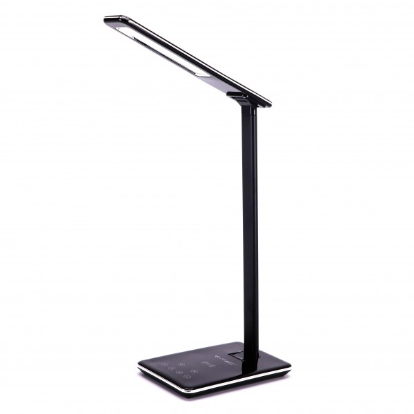 Lampa LED de birou Neagra 5W protectie p...