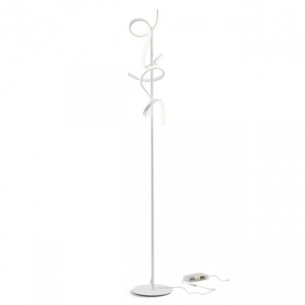 Lampadar LED GODART 24W 1500mm dimabil alb mat lumina calda