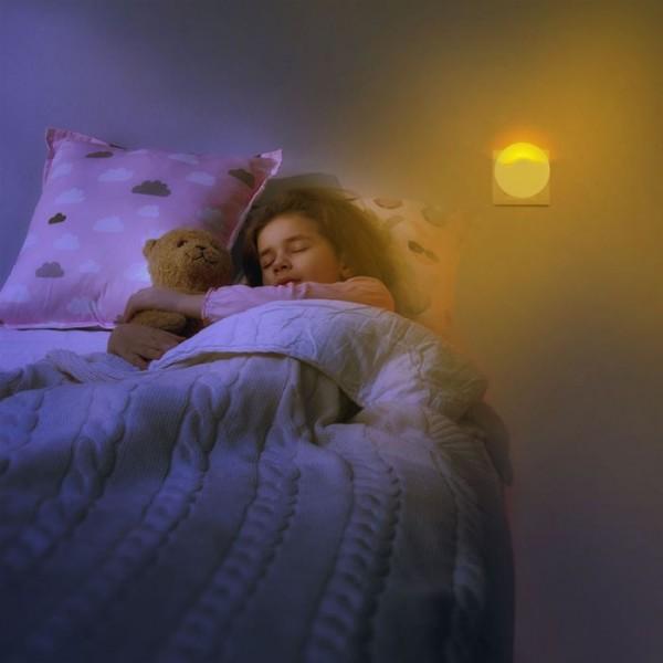 Lampa de veghe LED 0.45W cip Samsung rotunda VT-83