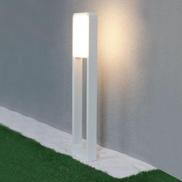 Lampadar LED 10W de gradina cip SAMSUNG corp alb