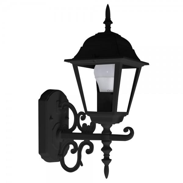 Lampa mica de Gradina E27 Corp Negru Mat