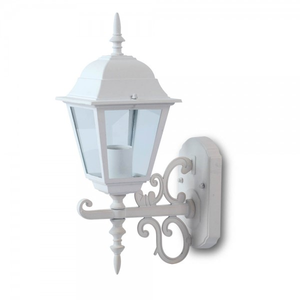 Lampa mica de Gradina E27 Corp Alb Mat
