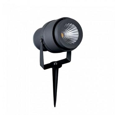 Corp iluminat LED tip tarus 12W Corp Gri Alb Cald