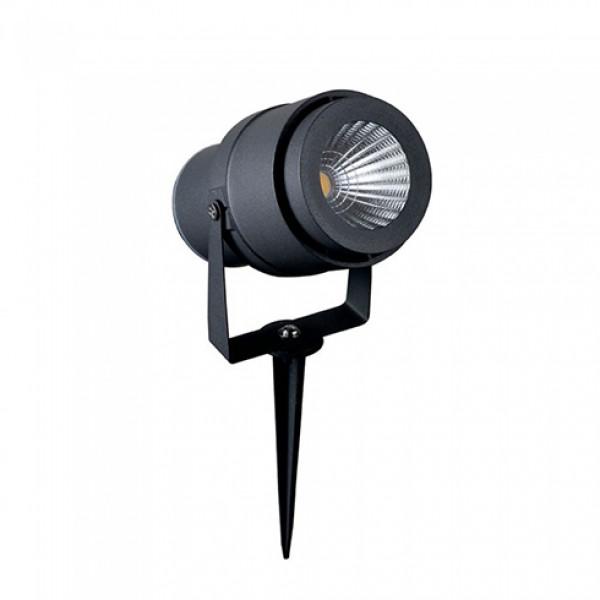 Corp iluminat LED tip tarus 12W Corp Gri Alb Neutru
