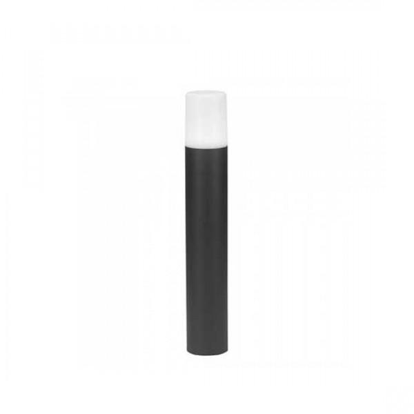 Lampadar de Gradina Aluminiu GU10 Cilindru Corp Negru
