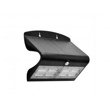 Lampa LED solara de perete 7W Alb Neutru Corp Negru