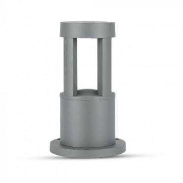 Aplica LED 10W de gradina Corp Gri 25 cm lumina neutra