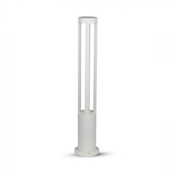 Aplica LED 10W de gradina Corp Alb 80 cm inaltime lumina calda