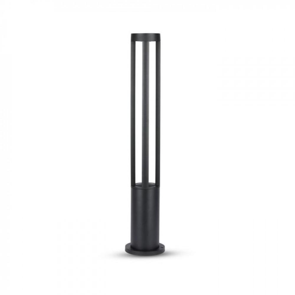 Aplica LED 10W de gradina Corp Negru 80 cm inaltime lumina calda