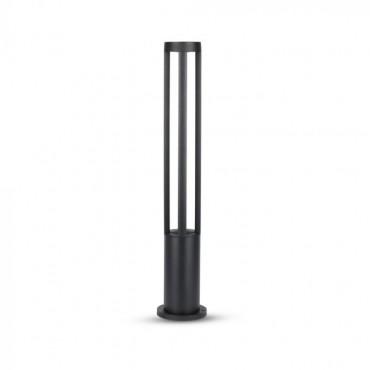 Aplica LED 10W de gradina Corp Negru 80 cm inaltime lumina neutra
