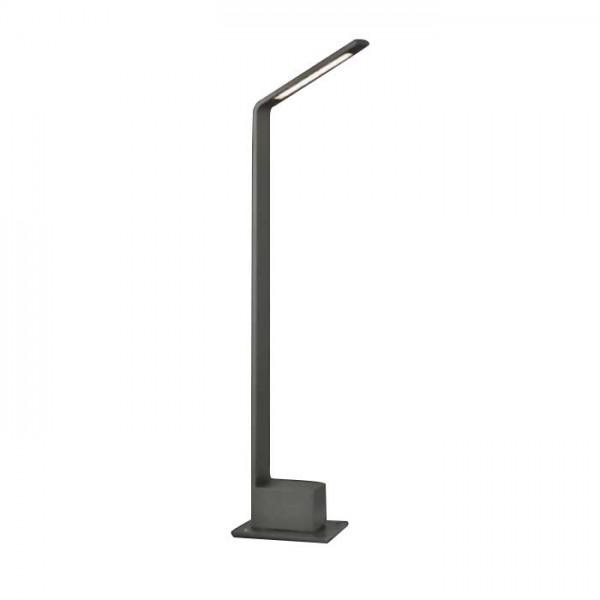 Stalpisor LED 7W Corp Gri Alb ...