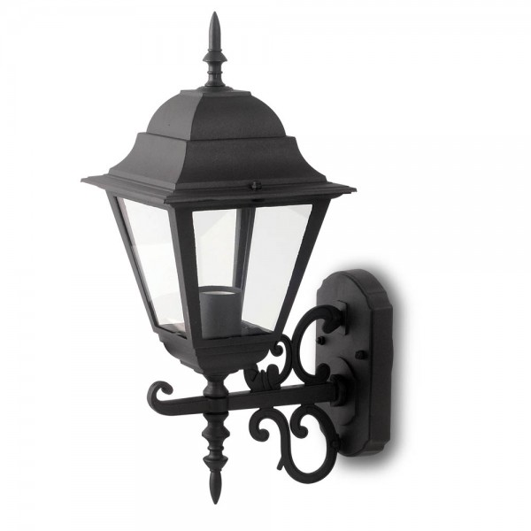 Lampa de Gradina E27 Corp Negru Mat