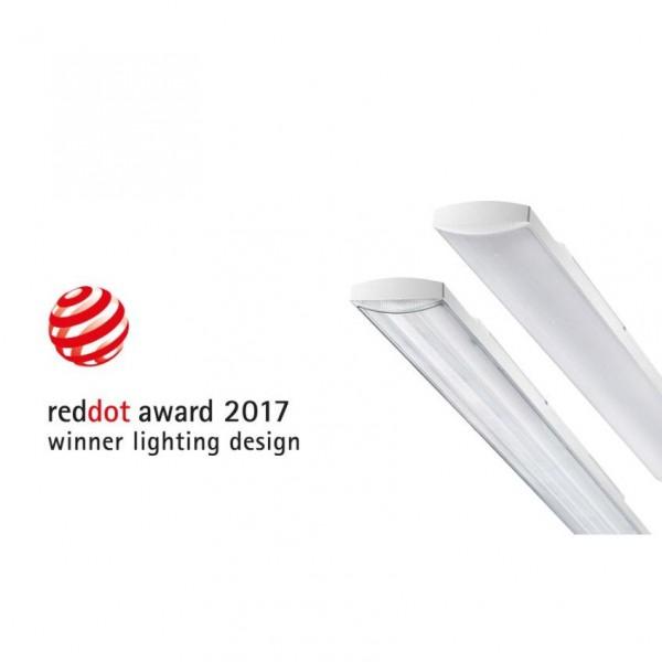 Corp iluminat liniar cu LED 1200mm 20W Gewiss Smart 3 54 LED-uri Mat