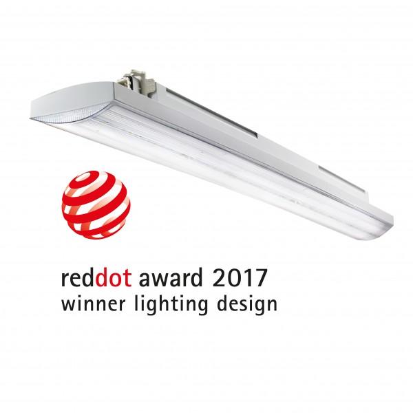 Corp iluminat liniar cu LED 1600mm 50W Gewiss Smart 3 84 LED-uri Transparent