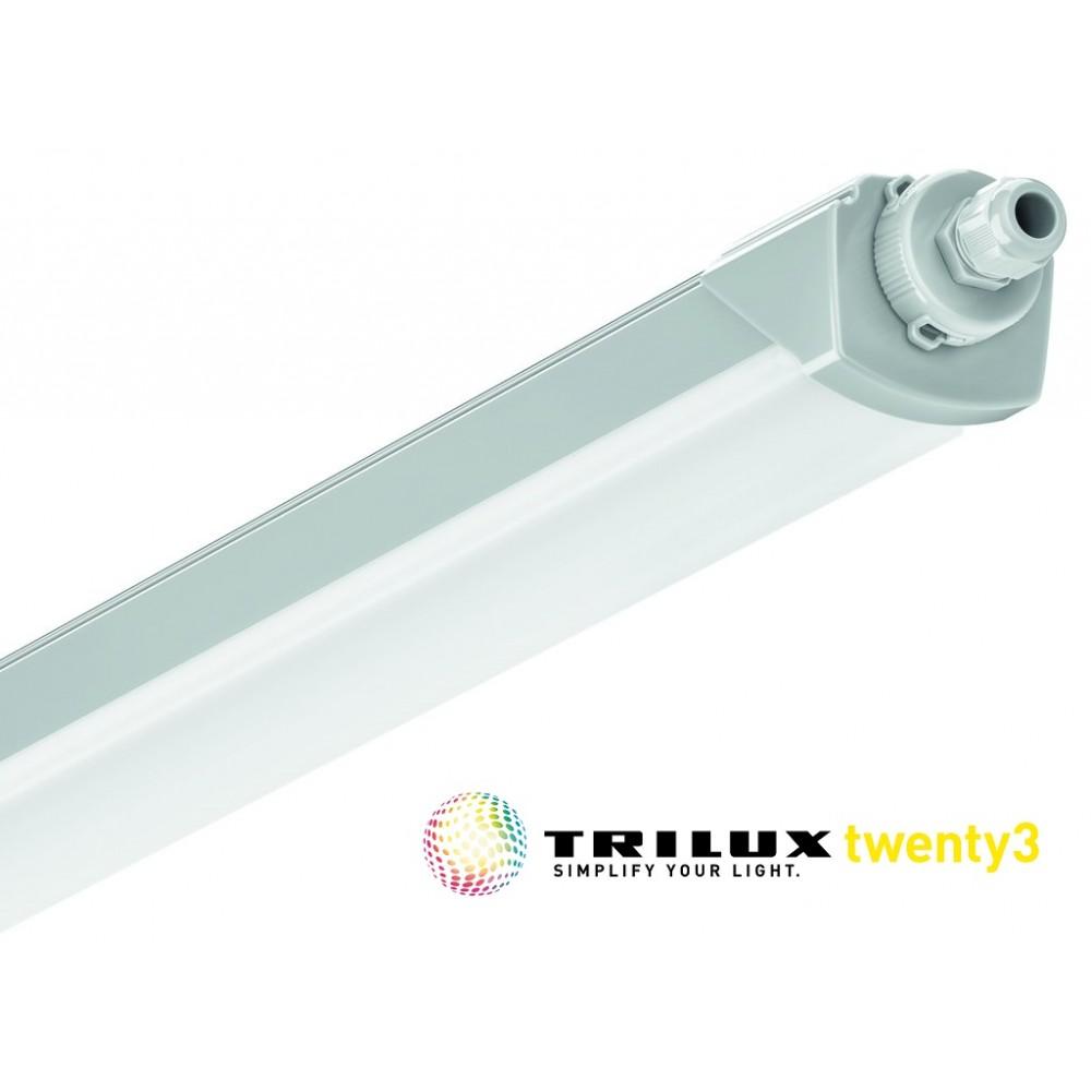 Corp de iluminat etans cu LED 23-33W 1200mm TRILUX 2135 Twenty3 cu flux luminos reglabil