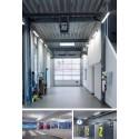 Corp de iluminat etans cu LED 33-48W 1500mm TRILUX 2135 Twenty3 cu flux luminos reglabil