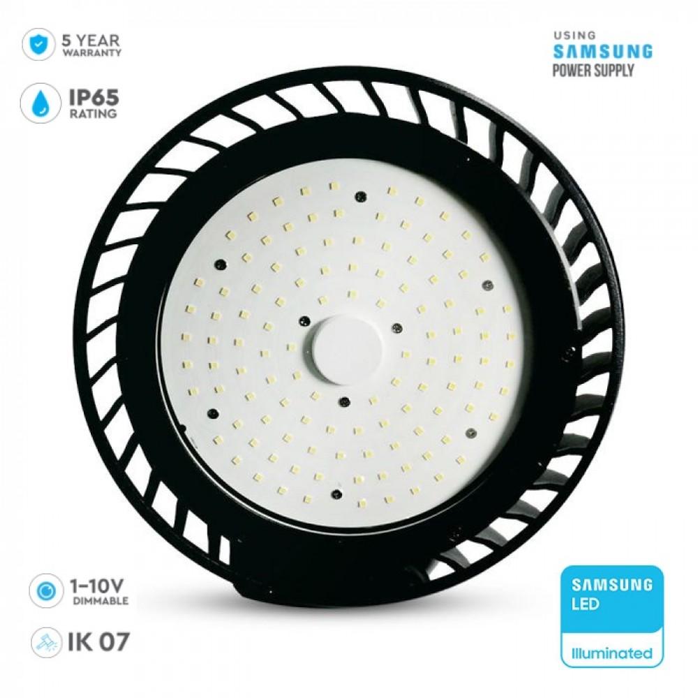 Lampa industriala LED 100W Cip SAMSUNG 120lm/W 120 de grade Alb Neutru