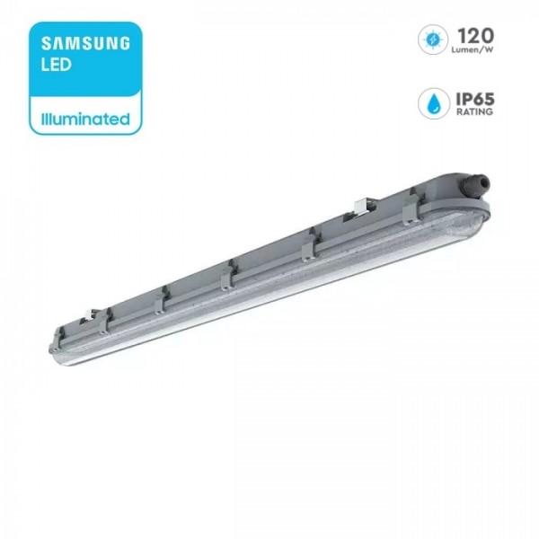Corp de iluminat etans cu LED 18W cip SAMSUNG 60cm 120lm/W