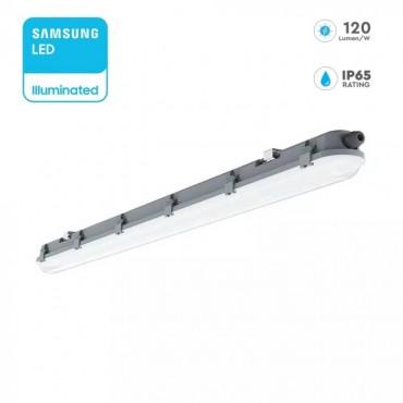 Corp de iluminat etans cu LED 48W cip SAMSUNG 150cm 120lm/W