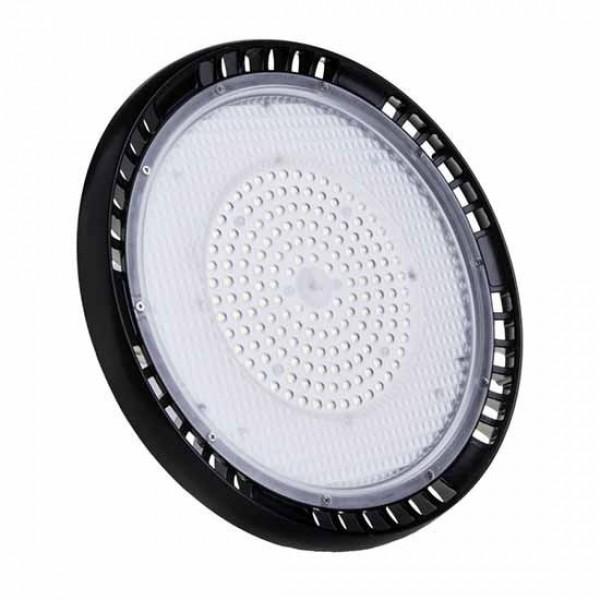 Lampa industriala LED Cip SAMSUNG driver Meanwell 150W 120lmW UFO 90 de grade Alb Rece