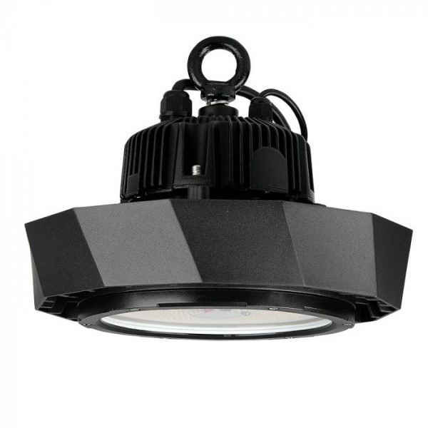 Lampa industriala LED Cip si driver SAMSUNG 100W 180lmW UFO 120 de grade Alb Neutru