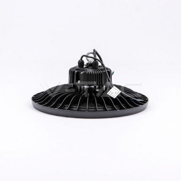 Lampa industriala LED Cip SAMSUNG driver Meanwell 200W 120lmW UFO 120 de grade Alb Rece