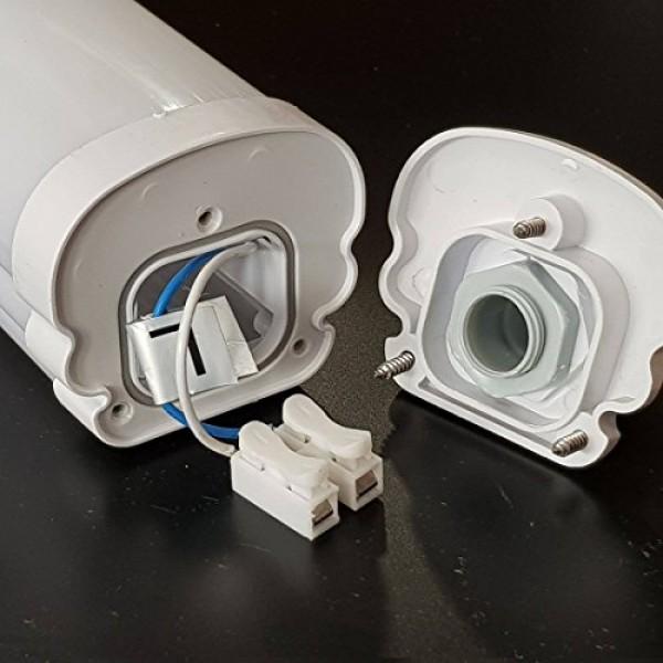 Corp Iluminat etans cu LED G-Series 48W 150cm Alb Rece