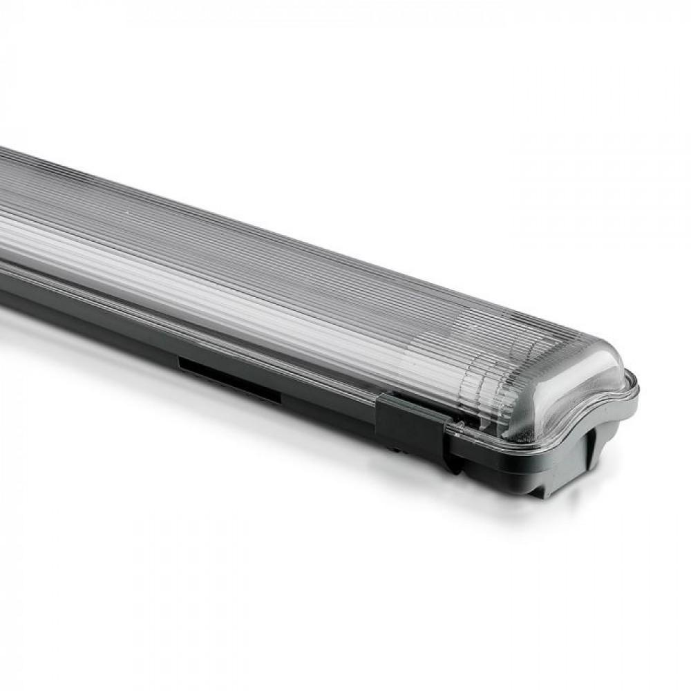 Corp Iluminat etans cu Tub LED 2X18W 120cm Alb Neutru