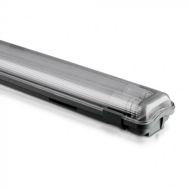 Corp Iluminat etans cu Tub LED 2X22W 150cm Alb Neutru