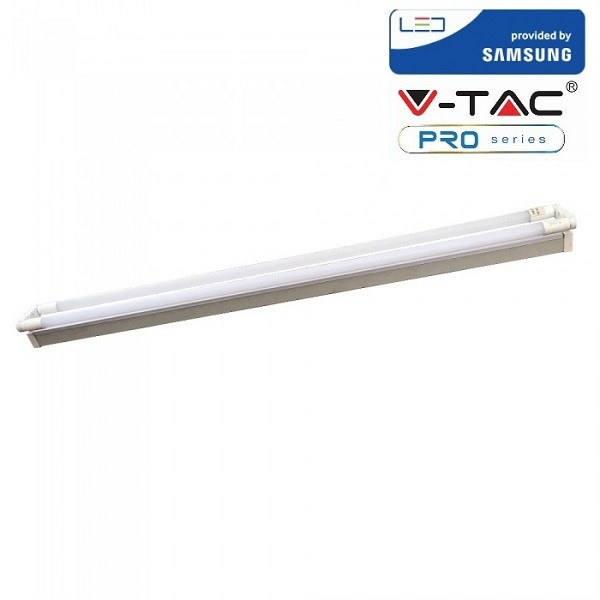Corp de iluminat cu Tub LED 36W Dublu cu CIP SAMSUNG 120cm Alb Rece