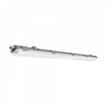 Corp Iluminat etans cu Tub LED 1x18W 120cm Alb Rece