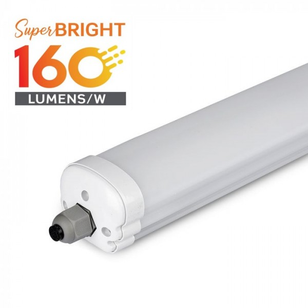 Corp Iluminat etans cu LED X-Series Evolution 24W 160lm/W 120cm Alb Neutru