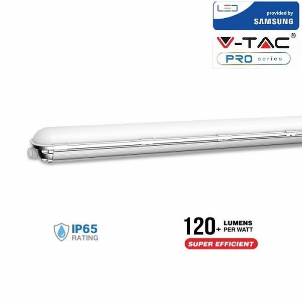 Corp de iluminat etans cu LED 60W CIP SAMSUNG 120cm Alb Rece