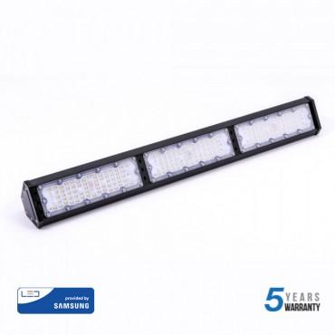 Lampa liniara LED industriala 150W CIP SAMSUNG 120lm/W Alb Rece 100 grade