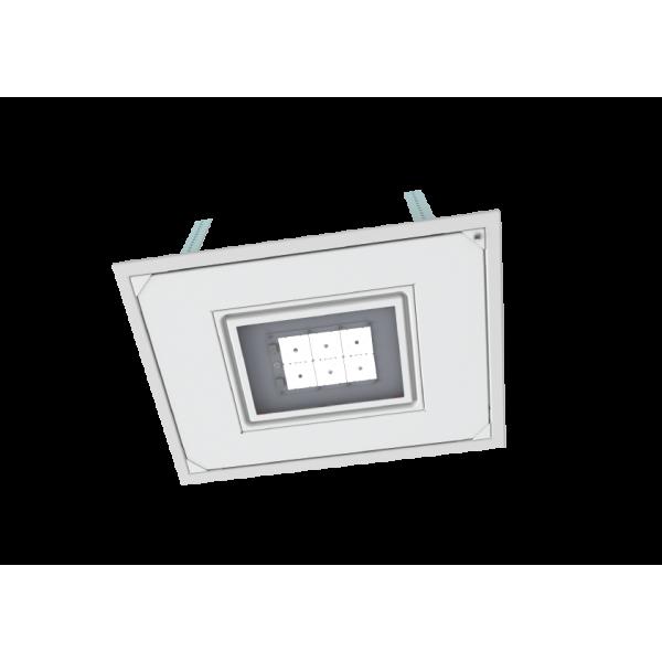 Corp iluminat LED Vega 75W pentru copertina benzinarii