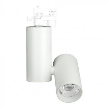 Proiector LED 30W pe sina Alb Rece