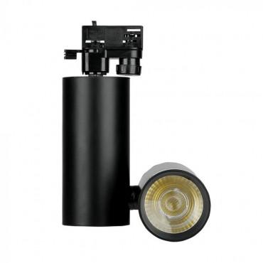 Proiector LED 30W pe sina Corp Negru Alb Rece