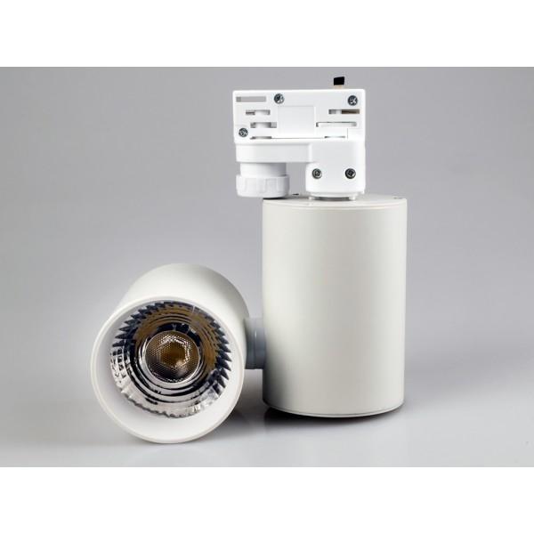 Proiector LED 15W pe sina Corp Alb Alb Rece