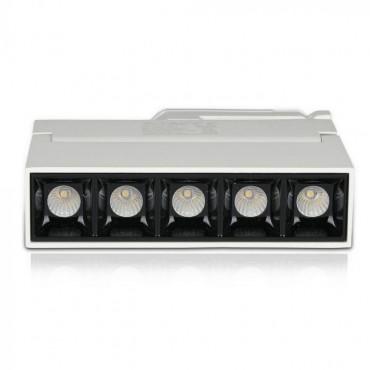 Corp LED liniar pe sina Cip Samsung 12W Corp Alb Alb Neutru