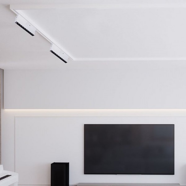 Corp LED liniar pe sina Cip Samsung 25W Corp Alb Alb Neutru